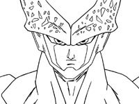 coloriage Cell