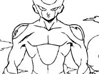 coloriage Perfect Freeza